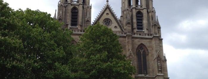 Basilique Sainte-Clotilde is one of Paris.