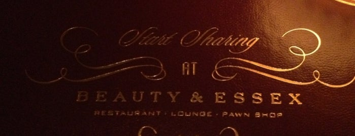 Beauty & Essex is one of Speakeasy - Hidden spots.