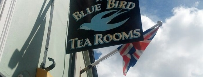 The Bluebird Tea Rooms is one of Pub's, Club's e Coffee Shops!.