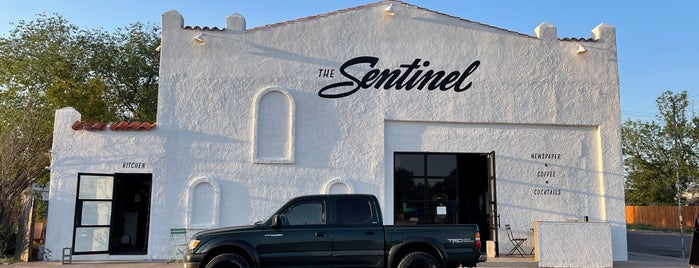 The Sentinel is one of Places I've Been - NYC and national.