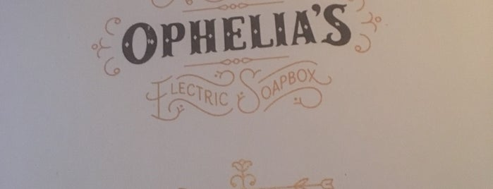 Ophelia's Electric Soapbox is one of Denver on the rockies.
