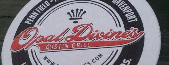 Opal Divine's Penn Field is one of Austin.