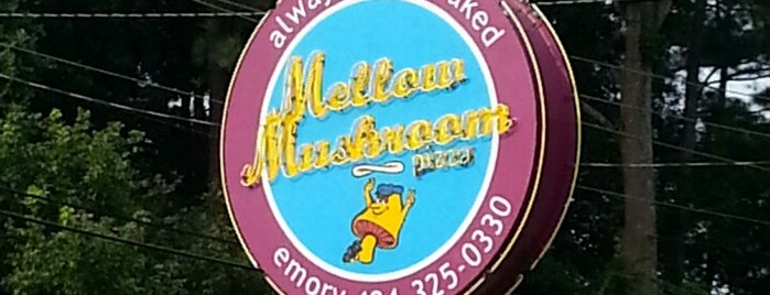Mellow Mushroom is one of ATL eats and drinks.