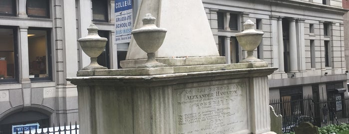 Alexander Hamilton's Grave is one of New York City.