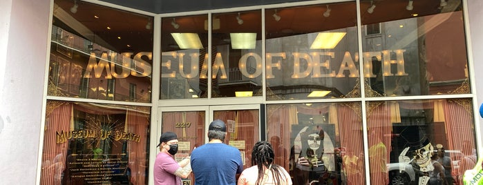 Museum Of Death is one of New Orleans.