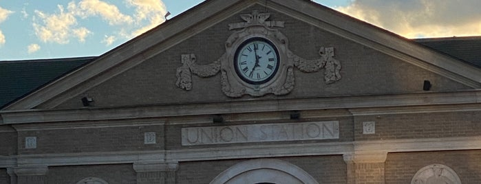 Union Station is one of Adirondacks and Vermont.