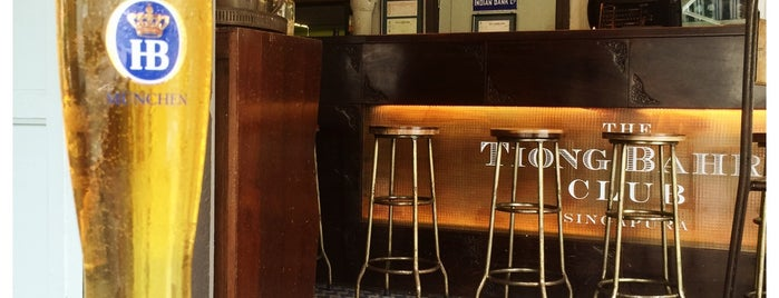The Tiong Bahru Club is one of Topics for Restaurant & Bar ⑤.