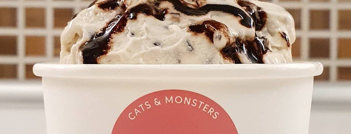 Cats & Monsters is one of Athens baby.