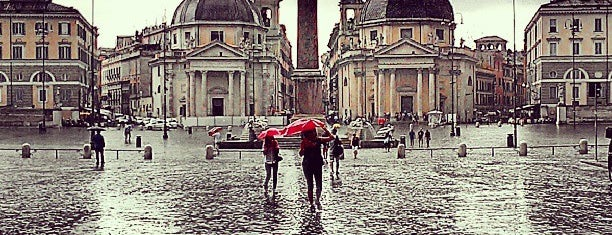Piazza del Popolo is one of Rome, Winter 2015.