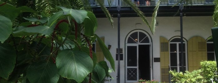 Ernest Hemingway Home & Museum is one of US - Must Visit ( East Coast).