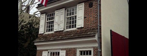 Betsy Ross House is one of Philadelphia.