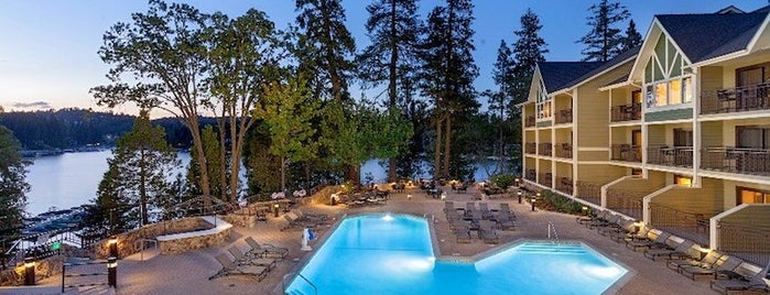 Lake Arrowhead Resort is one of 10 Full-Service Resorts Driving Distance from LA.