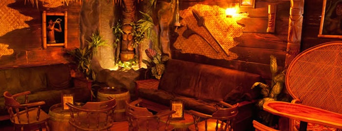 Bamboo Hut is one of The Tiki-est Tiki Bars in the Bay Area.