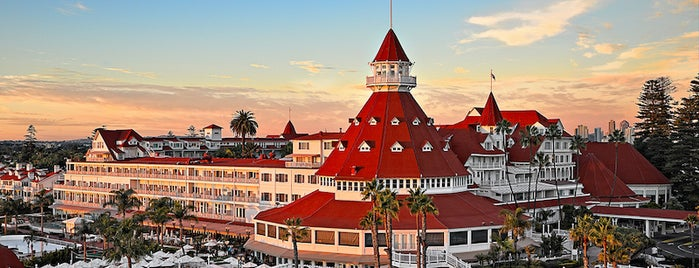 Hotel del Coronado is one of 10 Full-Service Resorts Driving Distance from LA.
