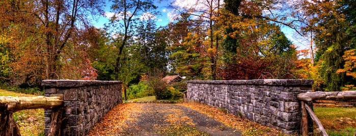 Sleepy Hollow, NY is one of 7 Best Spots for Fall Foliage in NYC.