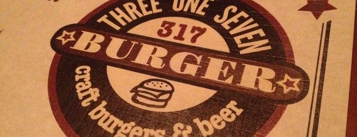 317 Burger is one of สถานที่ที่บันทึกไว้ของ CS_just_CS.