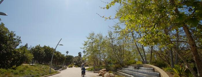 Tongva Park is one of Best of Santa Monica by Bike.