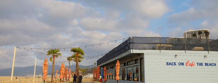 Back on the Beach Cafe is one of Best of Santa Monica by Bike.