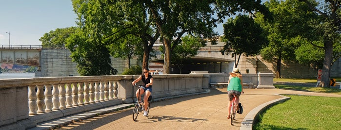 East Potomac Park is one of Bikabout Washington.