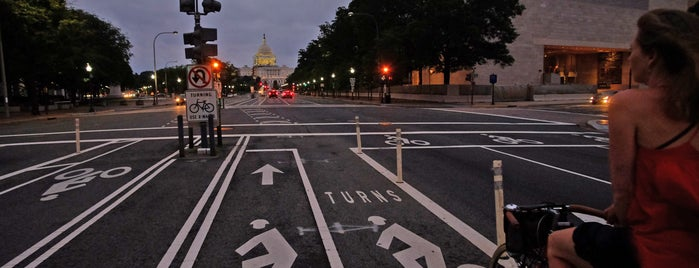 Pennsylvania Avenue Bike Lane is one of Bikabout's Guide to the GAP Trail and C&O Towpath.