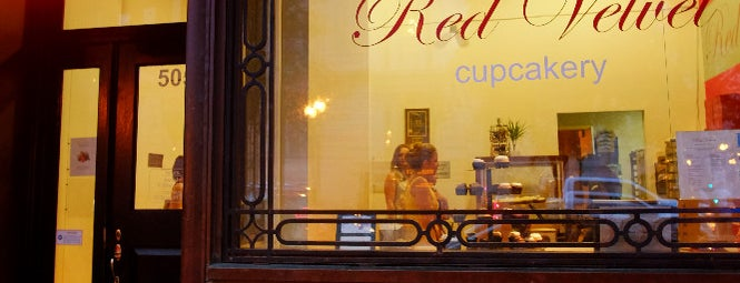 Red Velvet Cupcakery is one of Bikabout Washington.