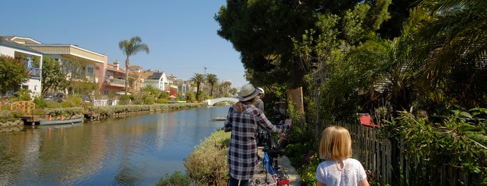 Venice Canals is one of Best of Santa Monica by Bike.