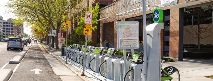 GREENbike station 20 S. West Temple is one of Best of Salt Lake City by Bike.