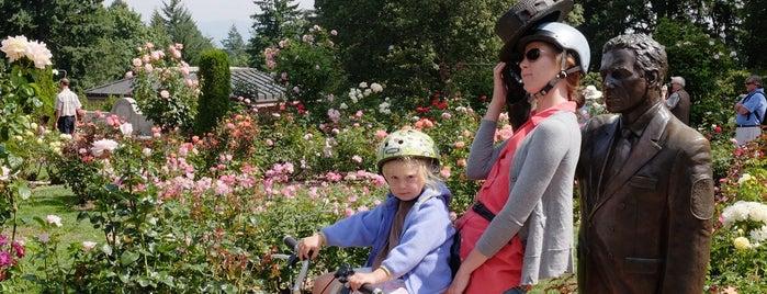 International Rose Test Garden is one of Best of Portland by Bike.