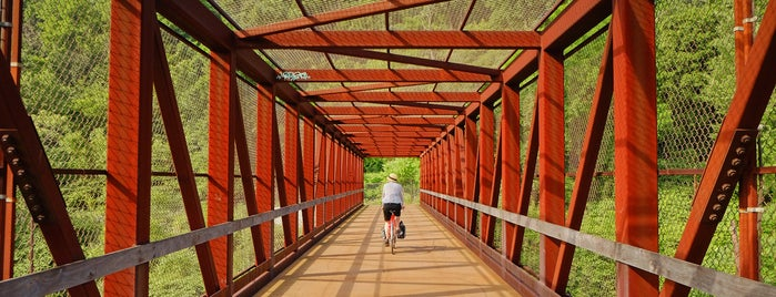 Great Allegheny Passage Bike Trail is one of Bikabout's Guide to the GAP Trail and C&O Towpath.