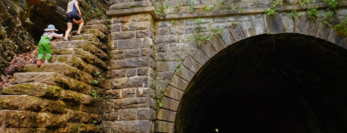 Paw Paw Tunnel is one of Bikabout's Guide to the GAP Trail and C&O Towpath.
