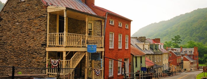 Harpers Ferry, WV is one of Bikabout's Guide to the GAP Trail and C&O Towpath.