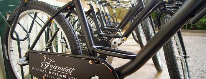 Fairmont Miramar Hotel & Bungalows is one of Best of Santa Monica by Bike.