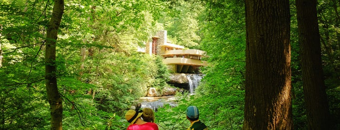 Fallingwater is one of Bikabout's Guide to the GAP Trail and C&O Towpath.