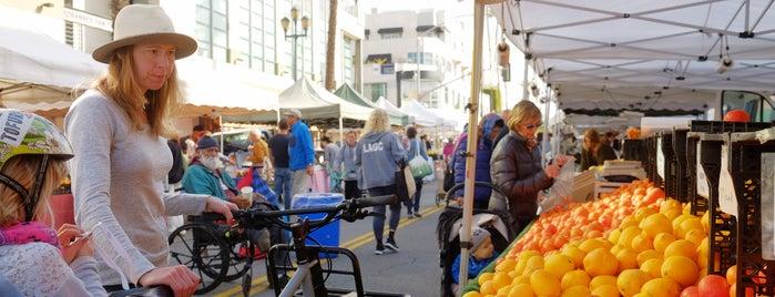 Santa Monica Farmers Market is one of Best of Santa Monica by Bike.