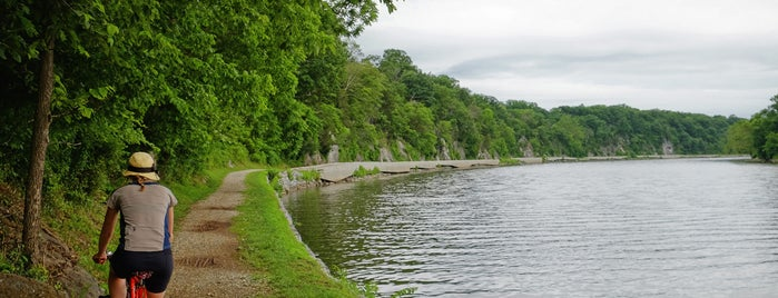Big Slackwater is one of Bikabout's Guide to the GAP Trail and C&O Towpath.