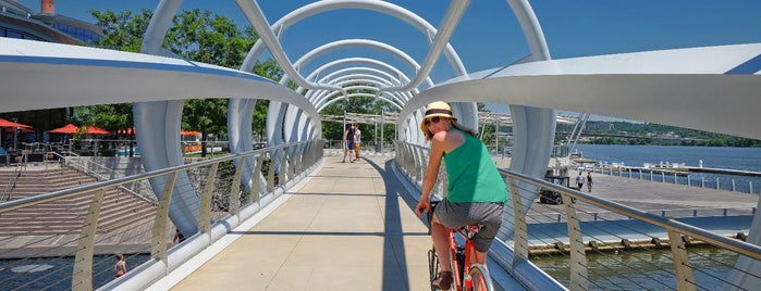Anacostia Riverwalk Trail is one of Bikabout Washington.