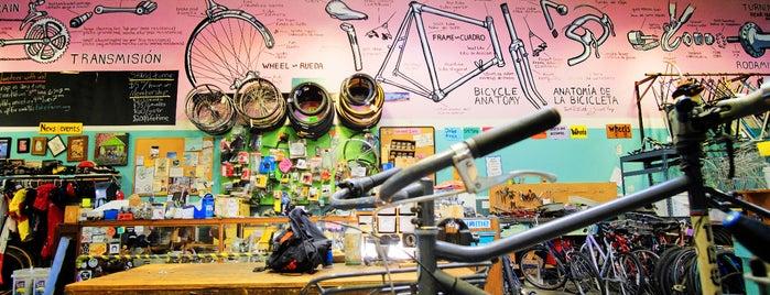 Bike Farm is one of Best of Portland by Bike.