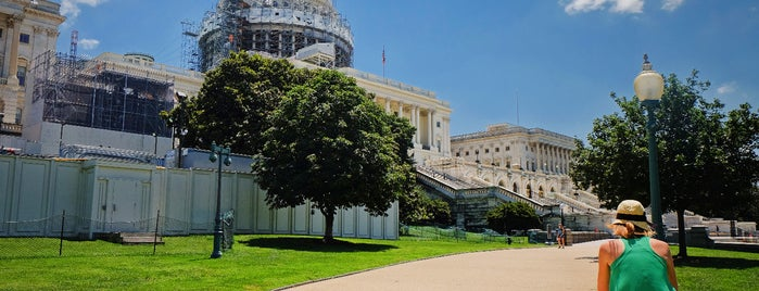 U.S. Capitol West Terrace is one of Bikabout Washington.