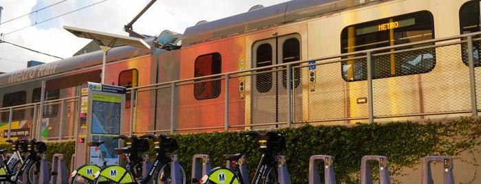 Metro Rail - Downtown Santa Monica Station (E) is one of Best of Santa Monica by Bike.