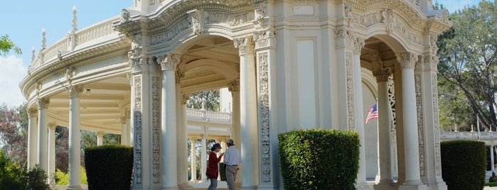 Spreckels Organ Pavilion is one of Bikabout San Diego.