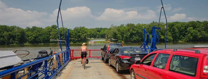 White's Ferry is one of Bikabout's Guide to the GAP Trail and C&O Towpath.