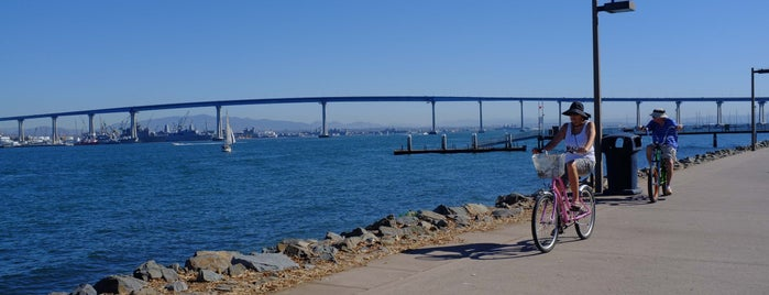 Bayshore Bikeway is one of Bikabout San Diego.