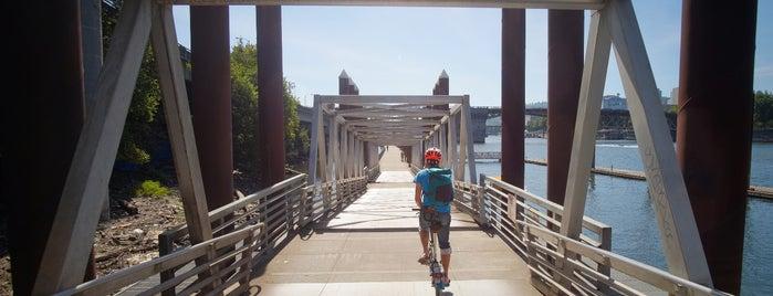 Vera Katz Eastbank Esplanade is one of Best of Portland by Bike.