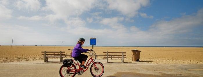 Santa Monica Beach Path is one of Best of Santa Monica by Bike.