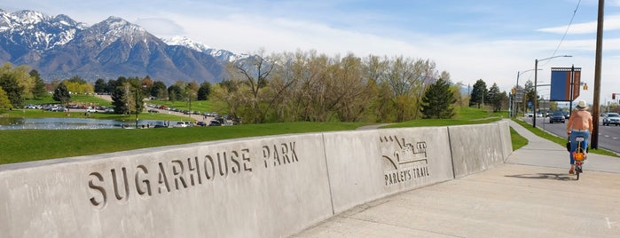 Sugar House Park is one of Best of Salt Lake City by Bike.