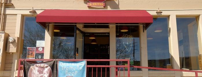 Bruges Waffles & Frites is one of Best of Salt Lake City by Bike.