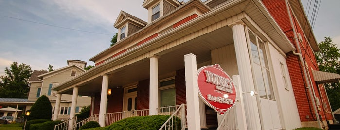 Yoder's Guest House is one of Bikabout's Guide to the GAP Trail and C&O Towpath.