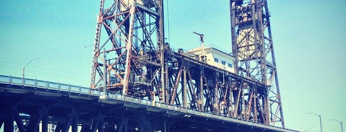 Steel Bridge is one of Best of Portland by Bike.