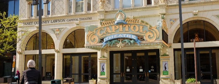 Capitol Theatre is one of Best of Salt Lake City by Bike.