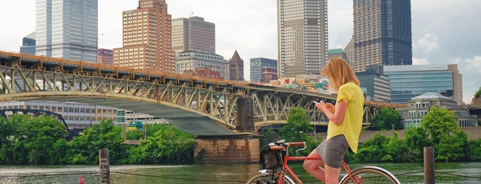 Three Rivers Heritage Trail, South Side - Mile 4.0 is one of Bikabout's Guide to the GAP Trail and C&O Towpath.